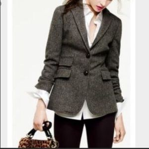 J.Crew Wool Hacking Jacket Blazer